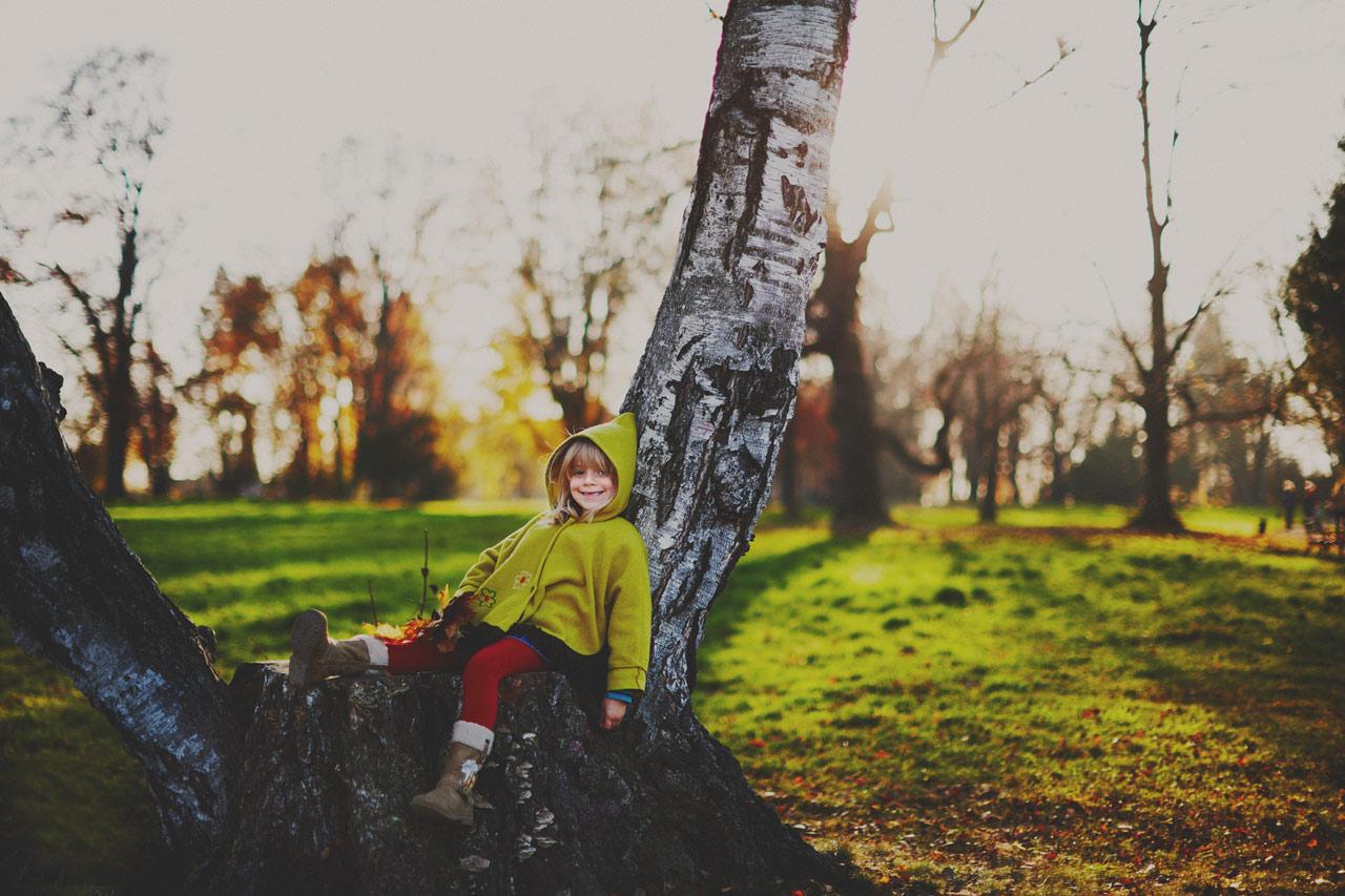 Fotograf w parku