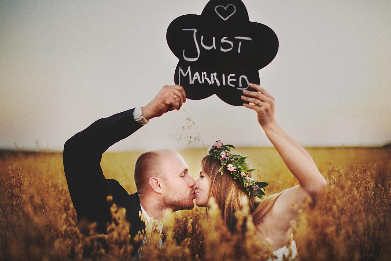 Motyw sesji ślubnej
