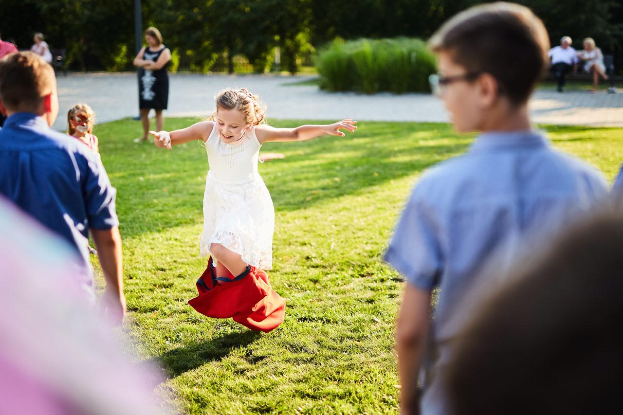 Zabawy z dziećmi na weselu